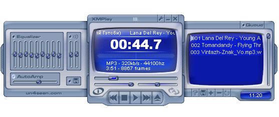 самый лёгкий аудиоплеер