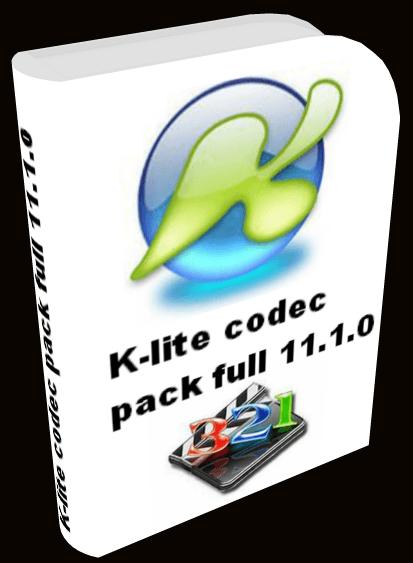 скачать программму K Lite Codec Pack Full 11.1.0