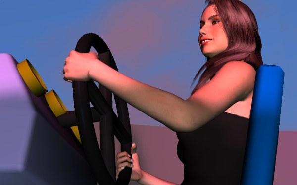 Виртуальное свидание с Арианой на русском языке (Virtual date Ariane Rus)